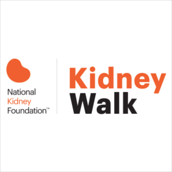 National Kidney Foundation logo - Kidney Walk 2017