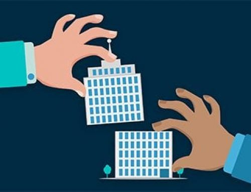 Which intangibles should private firms report following a merger?