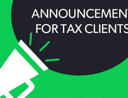 SSF Tax Client Announcement