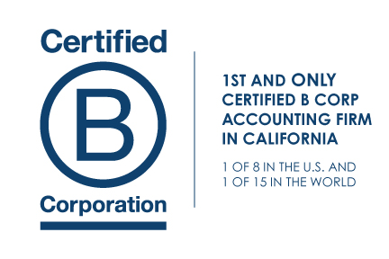 First and Only Certified B Corp Accounting Firm in California