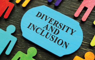 Diversity and Inclusion animated placard