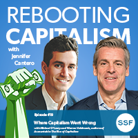 Rebooting Capitalism Podcast – Ep 19 – Michael O'Leary and Warren Valdmanis