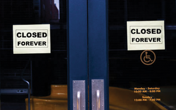 Businesses Closing Amid the Pandemic