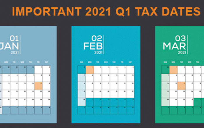 Tax-Related Deadlines
