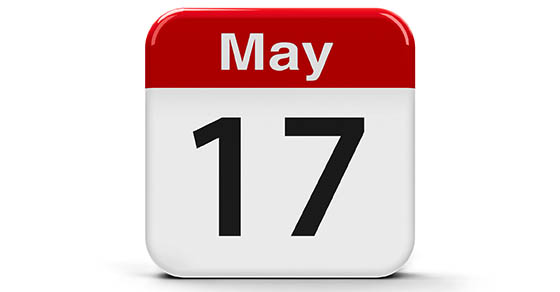 May 17th Extended Filing Deadline